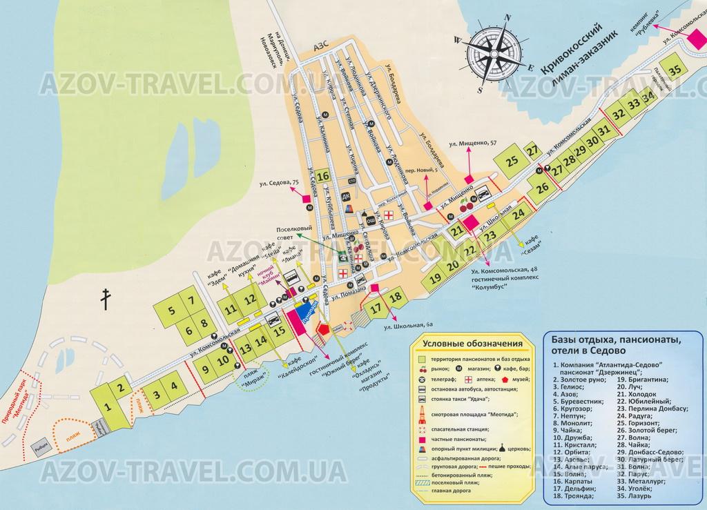 Карта Седово