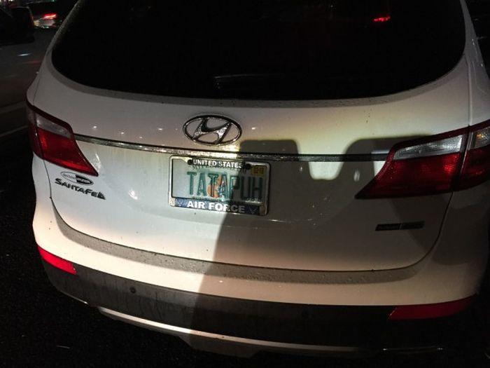 Номера на авто в США