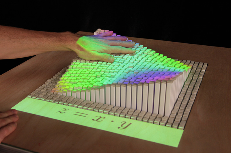 inFORM: An Interactive Dynamic Shape Display that Physically Renders 3D Content