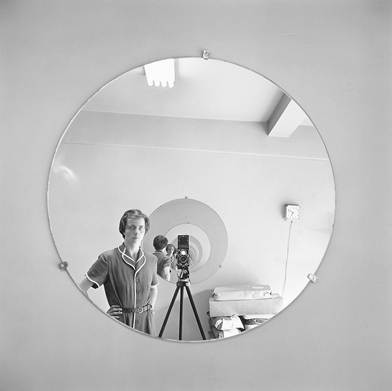 A New Book of Reflective Vivian Maier Self-Portraits