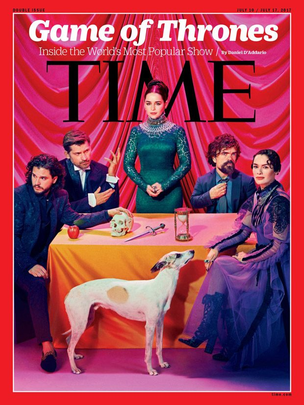 Game of Thrones Cast Star in Time Magazine Cover Story (9 pics)