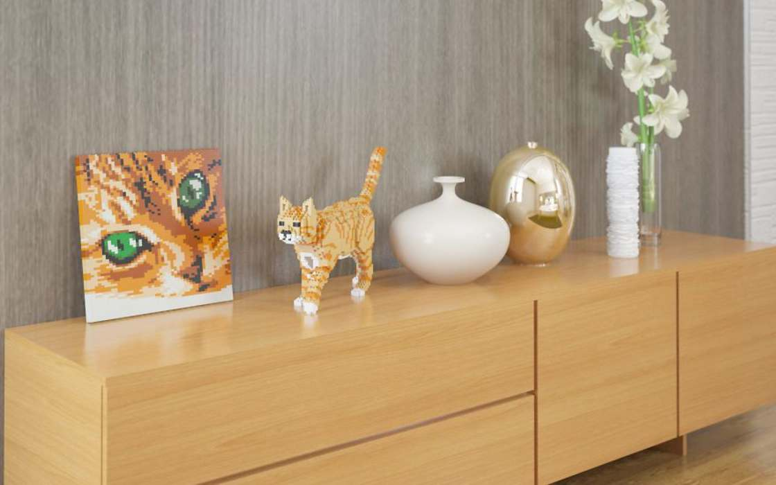 LEGO Cats - This company now offers full-size cats