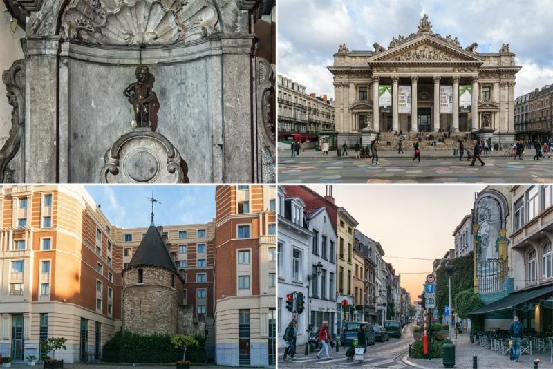 Нижний  город. Брюссель.