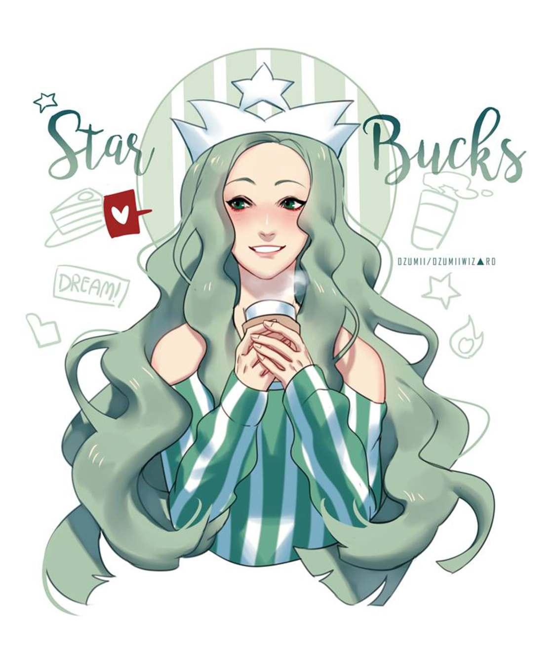 Elle transforme les fast-foods en personnages de manga