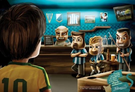 HOT Illustrations in Advertising (49 pics)