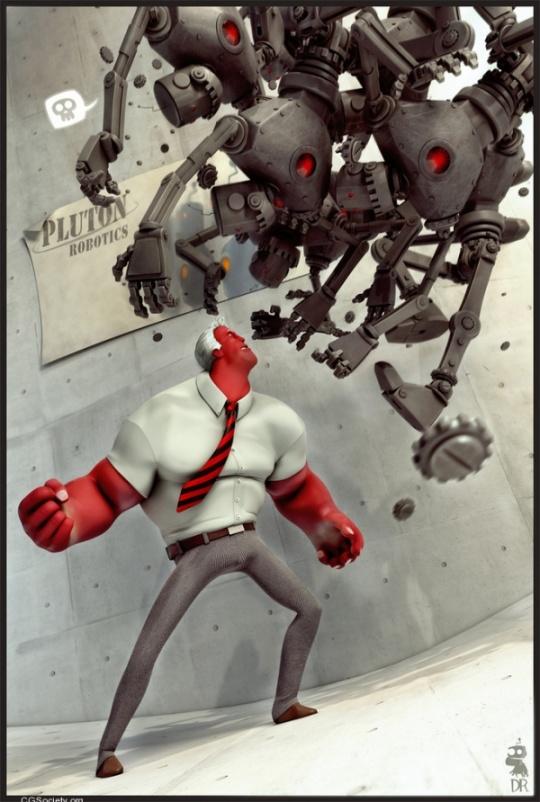 Incredible 3D Cartoons