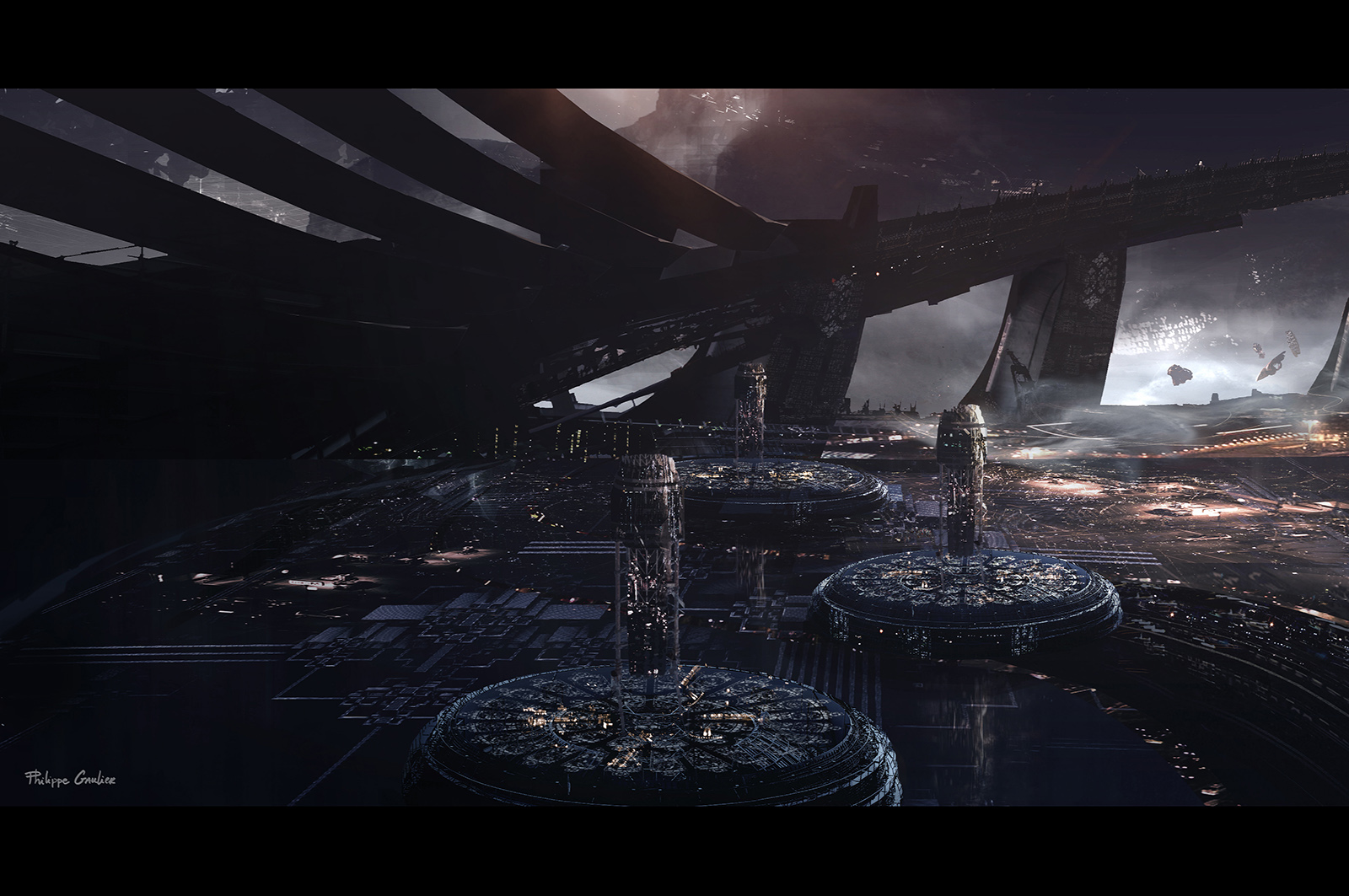 Jupiter Ascending Concept Art by Philippe Gaulier