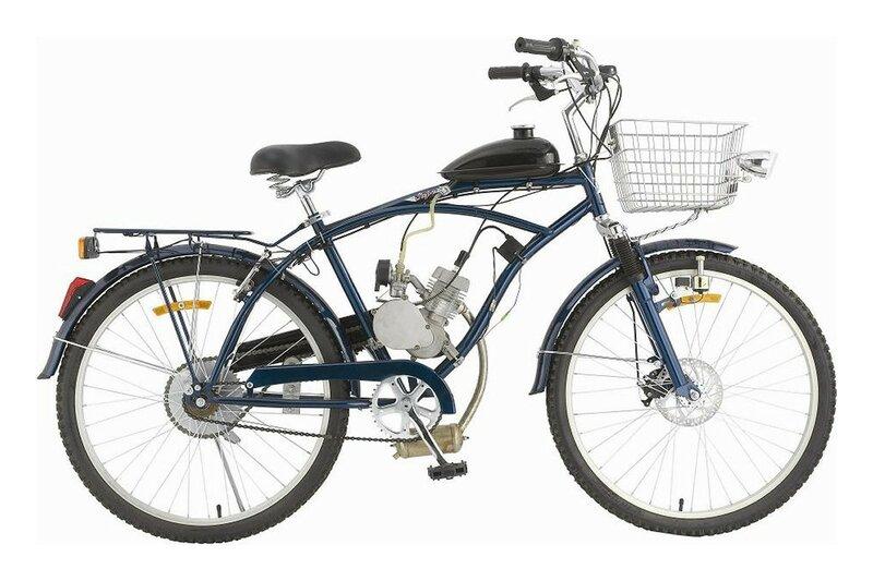Велосипед с мотором – TY-GAS BIKE