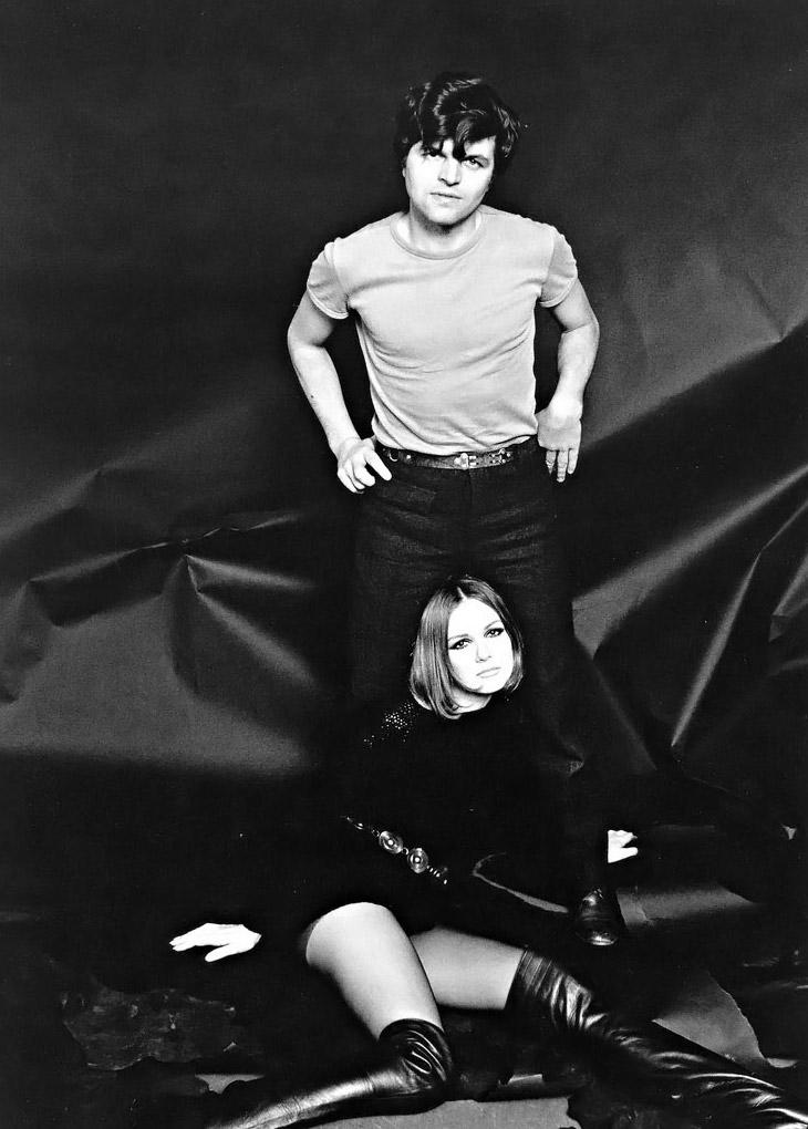 1965. Фотограф Ги Бурден и  Николь де ла Марж