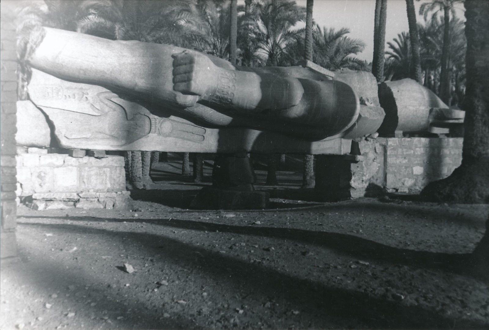 Мемфис. Статуя Рамзеса II