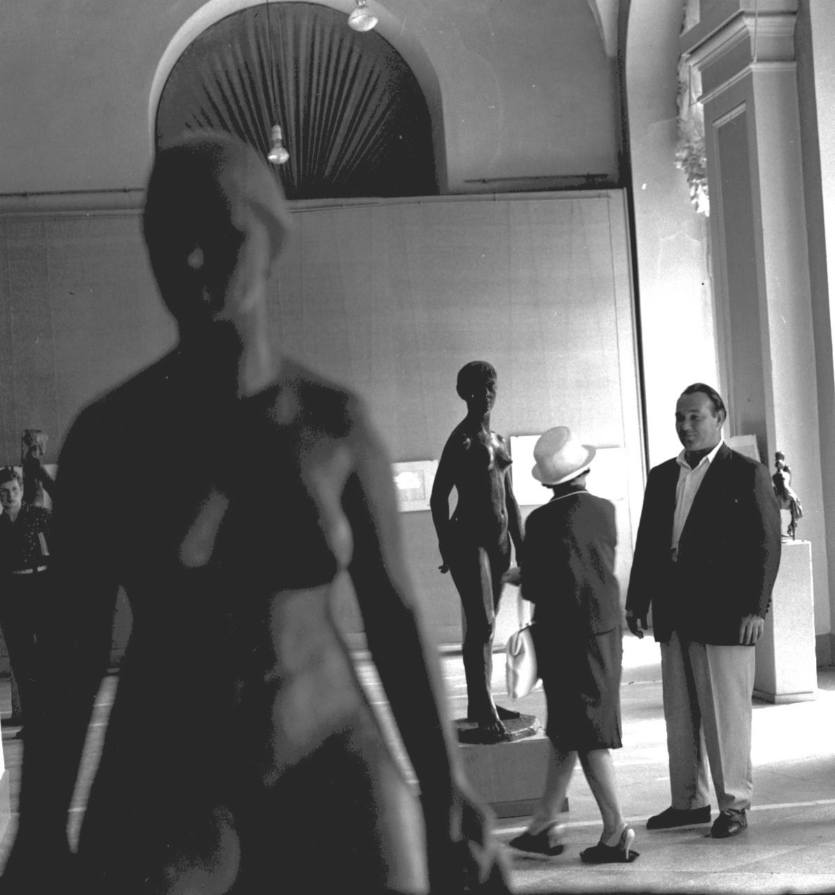 В ленинградском музее , 1965,06