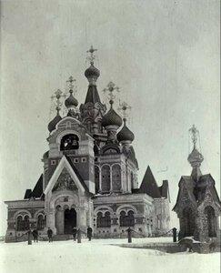 Иващенково. Церковь Сергия Радонежского