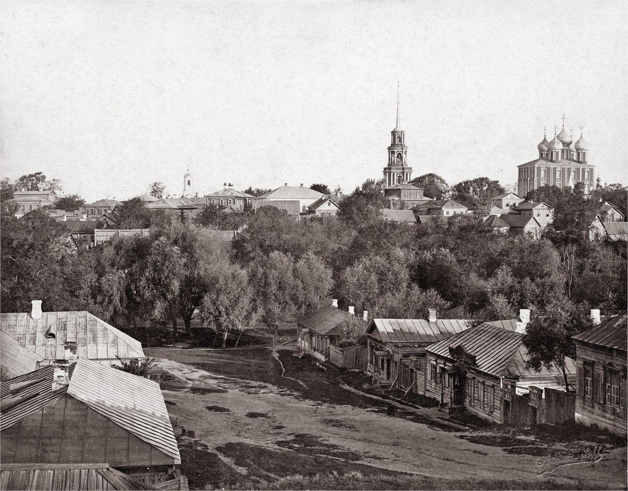Вид со Скоморошьей горы. 1894