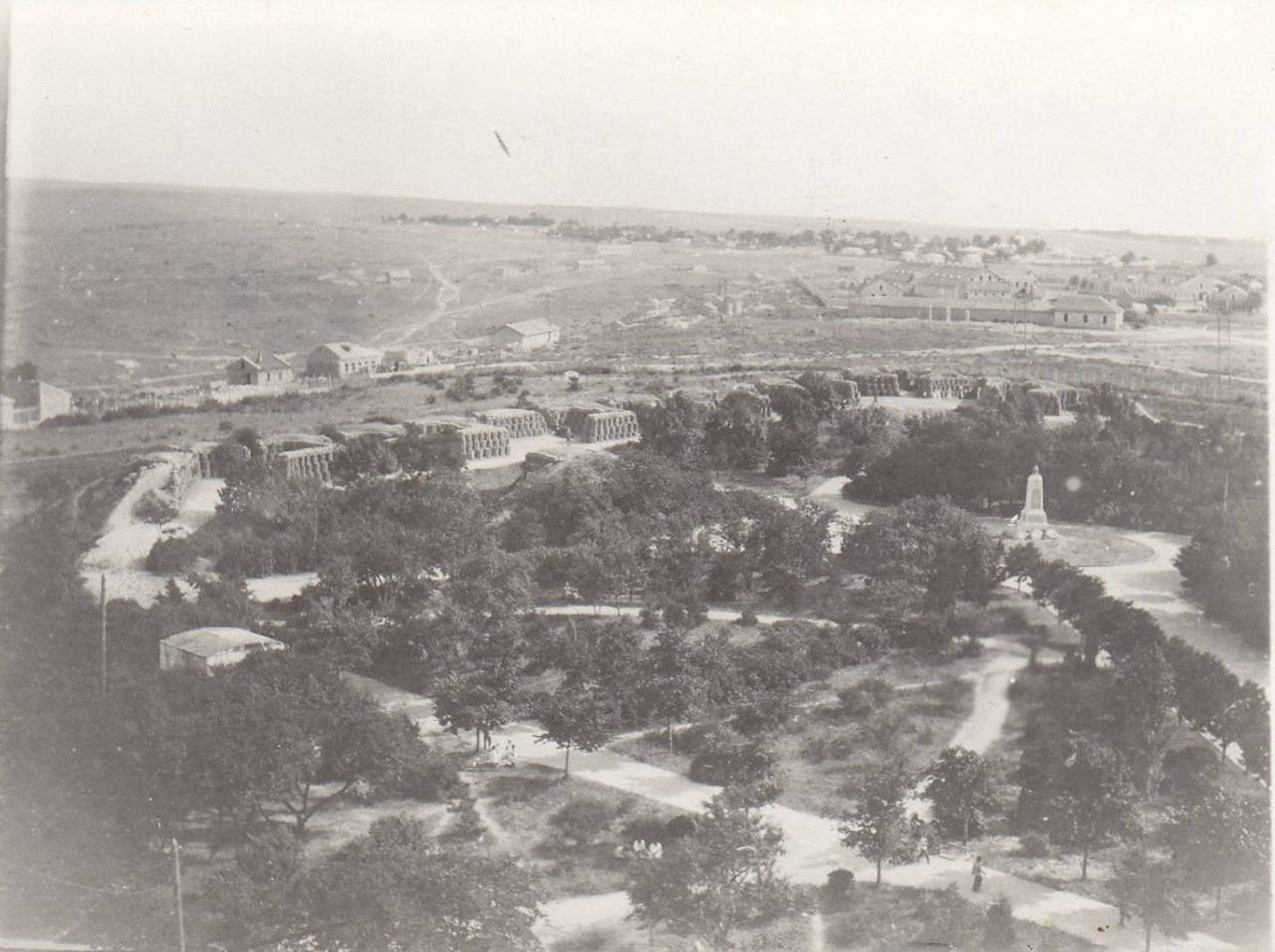 1920. Вид со здания Панорамы