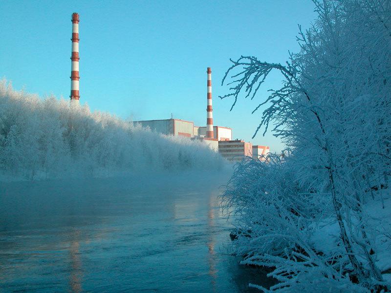 Великая страна СССР :: Кольская АЭС