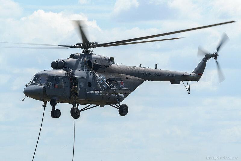 Миль Ми-8АМТШ (RF-91165) ВКС России 275_D801296