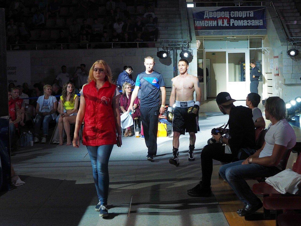 81 Вечер профессионального бокса в Магнитогорске 06.07.2017