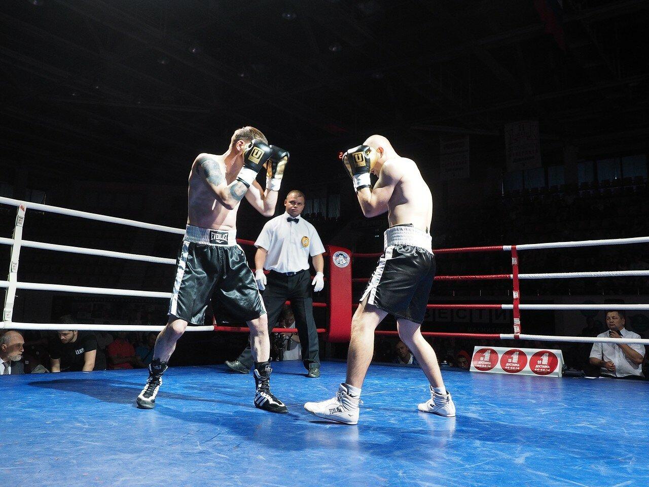 86 Вечер профессионального бокса в Магнитогорске 06.07.2017