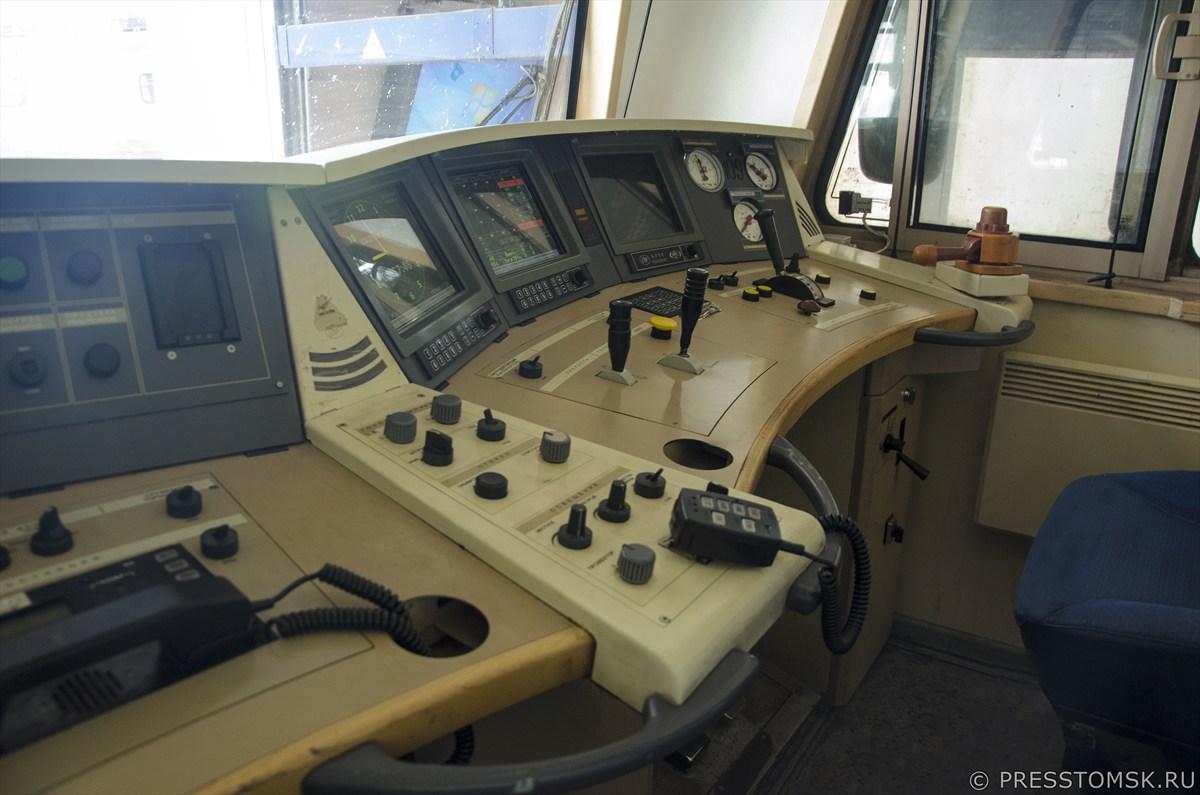 Пункт технического обслуживания локомотивов