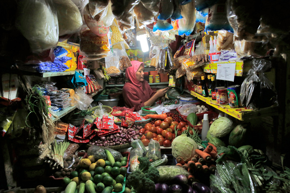 Кадры жизни в Индонезии