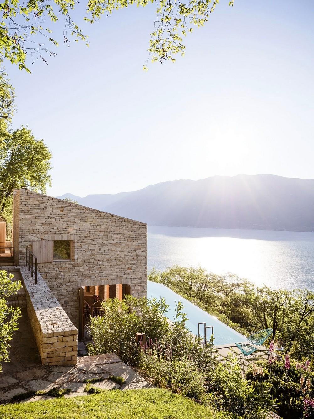 Гостевой дом на живописном склоне в Италии