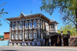 Томск. Жемчужины деревянного зодчества
