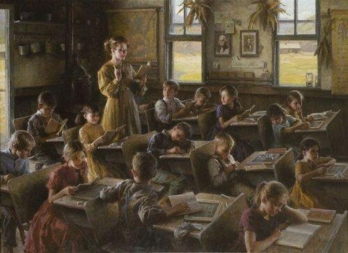 Morgan Weistling Country Schoolhouse