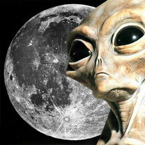Открытки с Всемирным днём НЛО. Лик инопланетянина!