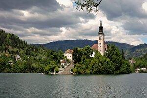 Озеро Блед (Lake Bled)