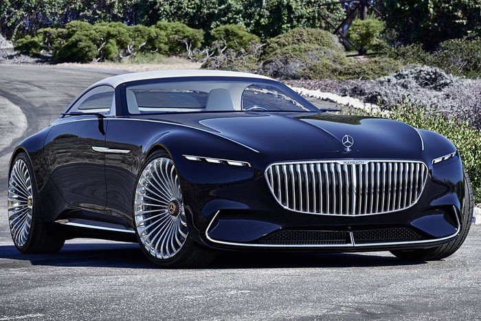 В Монтерее презентовали Vision Mercedes-Maybach 6 Convertible