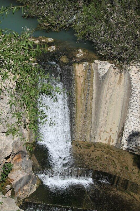 Эль Чорро. Каминито-дель-Рей. Плотина Камбутас (Presa de Cambutas)
