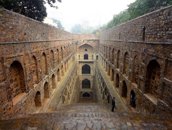 Ступенчатые колодцы – малоизвестные чудеса Индии