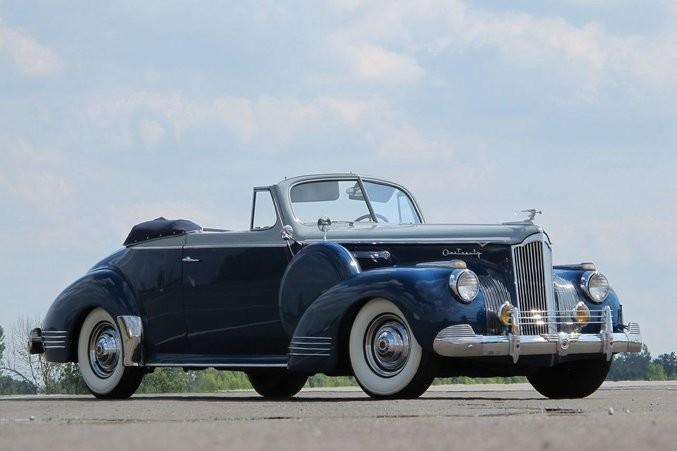 У известной артистки Орловой был приблизительно такой Packard-120…