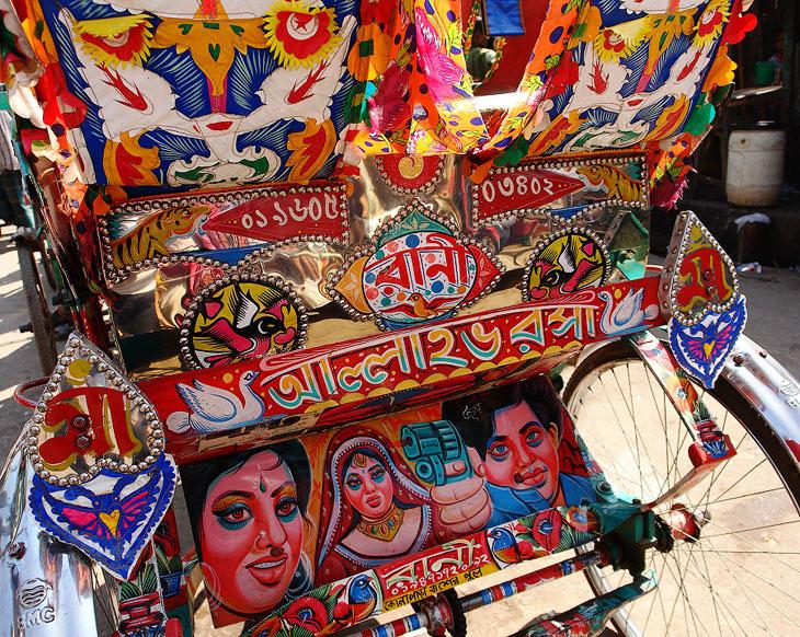 Топ-30 повозок рикш из Бангладеша (32 фото)