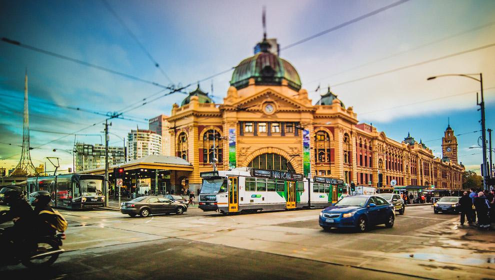 Тому, кто хочет увидеть сразу весь Мельбурн, стоит подняться на смотровую площадку Башни Риалто