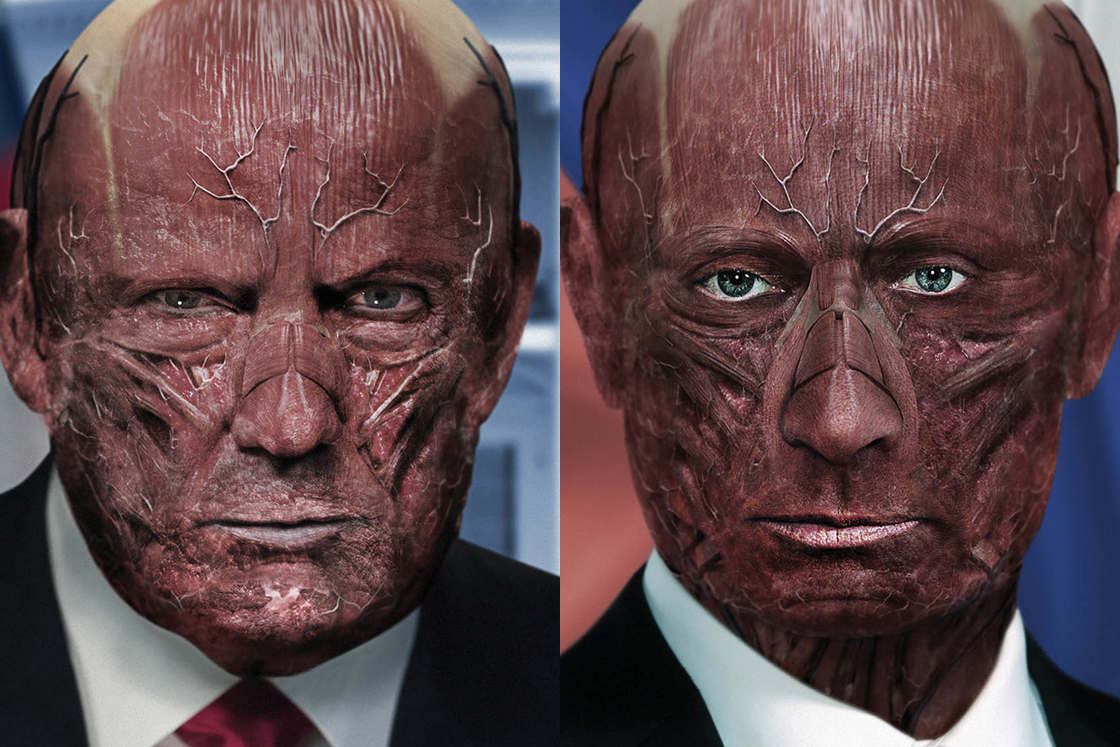 One Millimeter – When artists remove the skin of world leaders (19 pics)