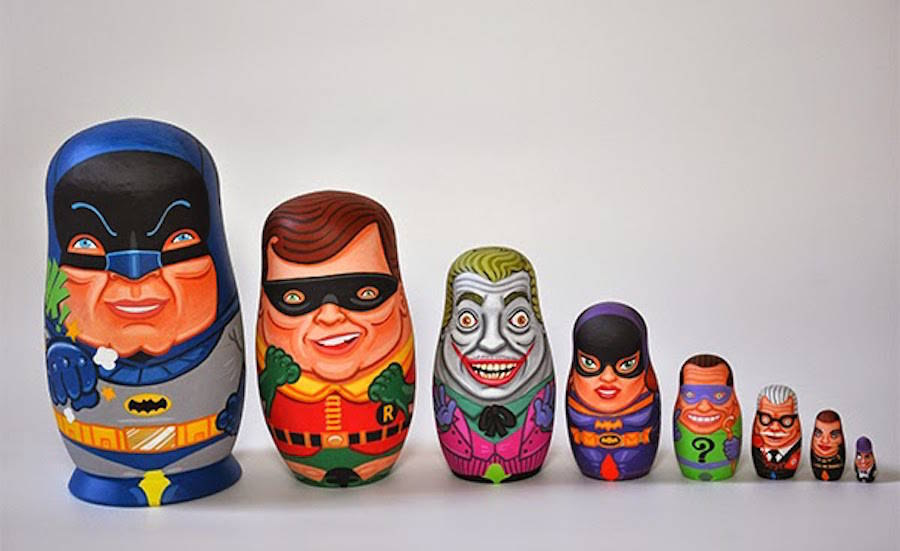 Iconic Movies and TV Shows Characters Nesting Dolls (13 pics)