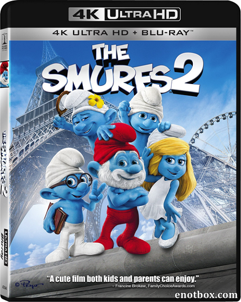 Смурфики 2 / The Smurfs 2 (2013) | UltraHD 4K 2160p