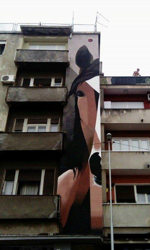 Сербия, графитти, фестиваль уличного искусства, Пожаревац