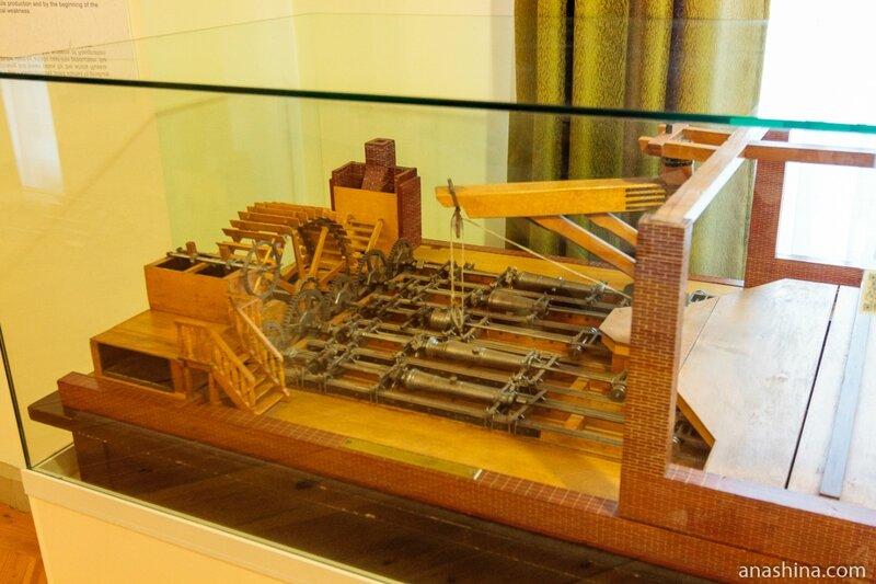 Модель цеха по производству пушек на Александровском заводе, Национальный музей Республики Карелия, Петрозаводск