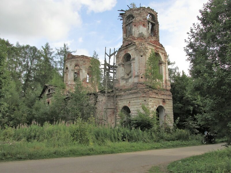 Елизаветино, Свято Владимирский Храм.