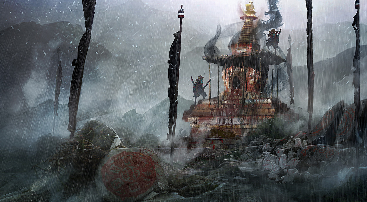 Far Cry 4 Concept Art by Kay Huang