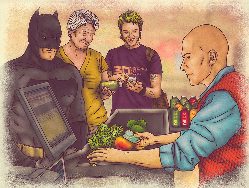 The Everyday Lives of Superheroes: The Juice-tice League Project