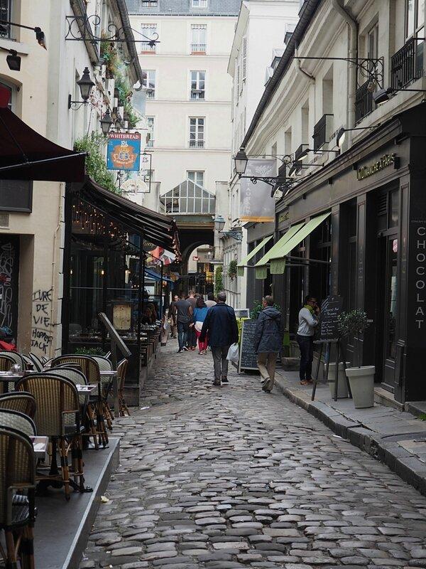 Пассаж Сент-Андре (Cour du Commerce Saint Andre)