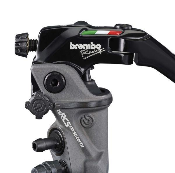 Главный тормозной цилиндр Brembo 19RCS Corsa Corta