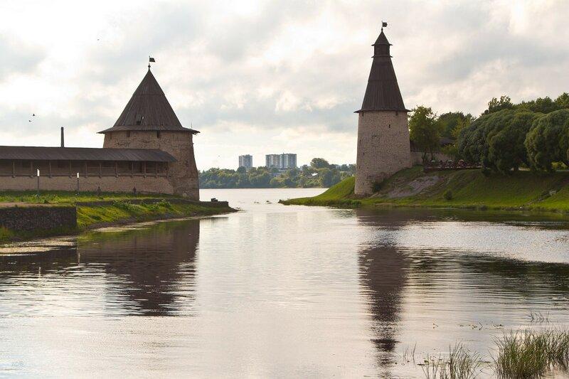 Устье реки Псковы