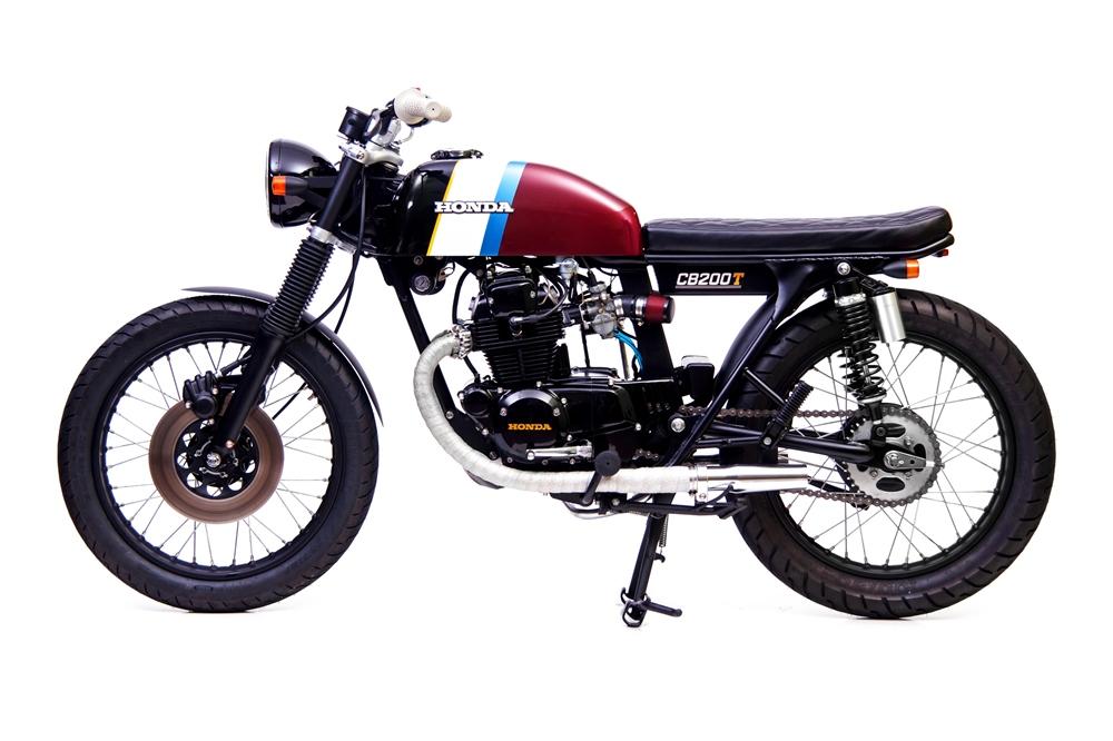 Slipstream Creations: кастом Honda CB200