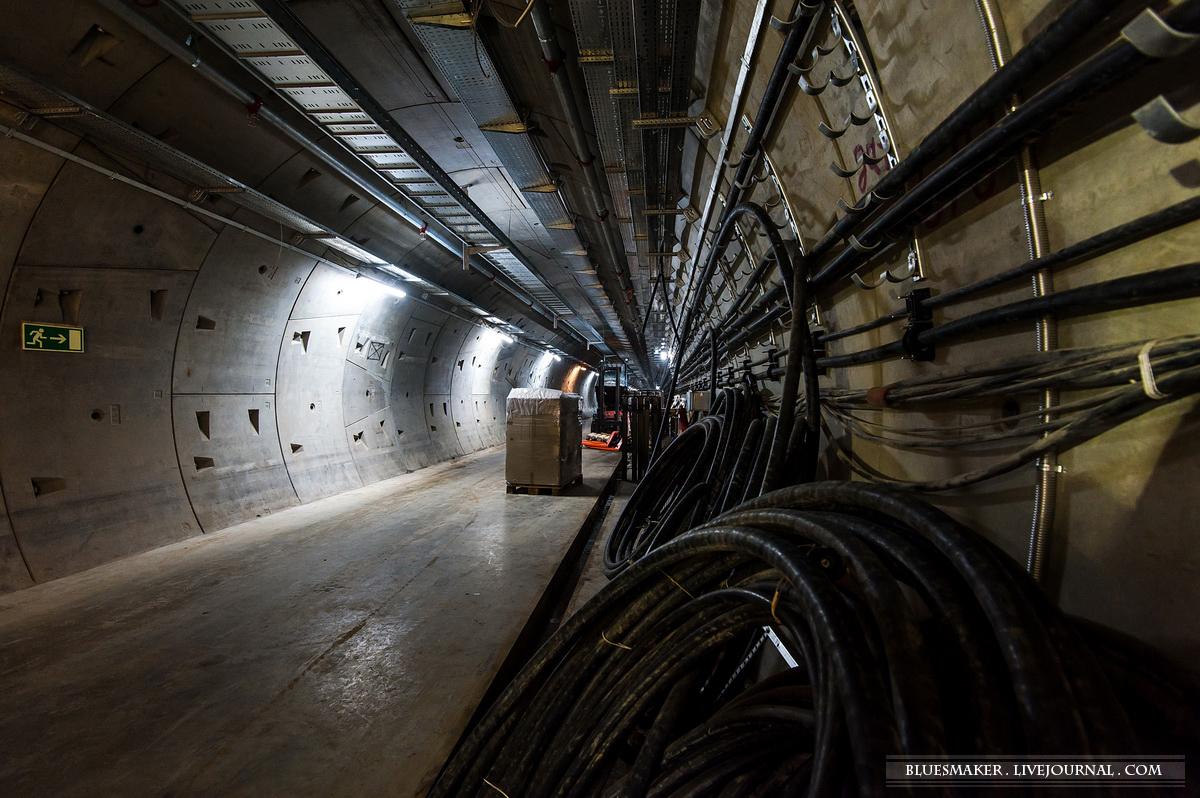 Под ВПП аэропорта Шереметьево прорыли тоннель.