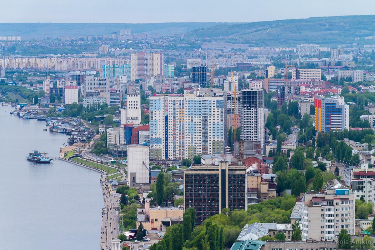 Вид на Саратов с Volga Sky фото 10