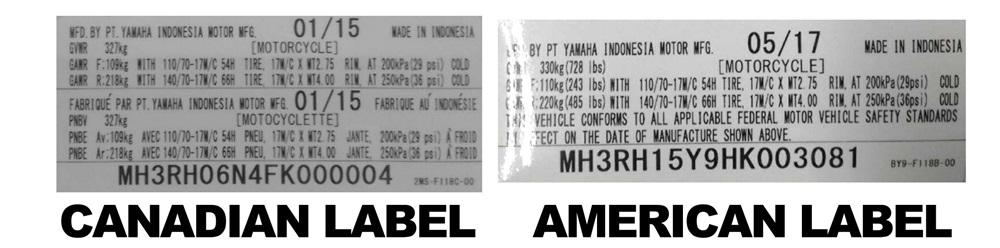 80 мотоциклов Yamaha YZF-R3 отзывают в США и Канаде